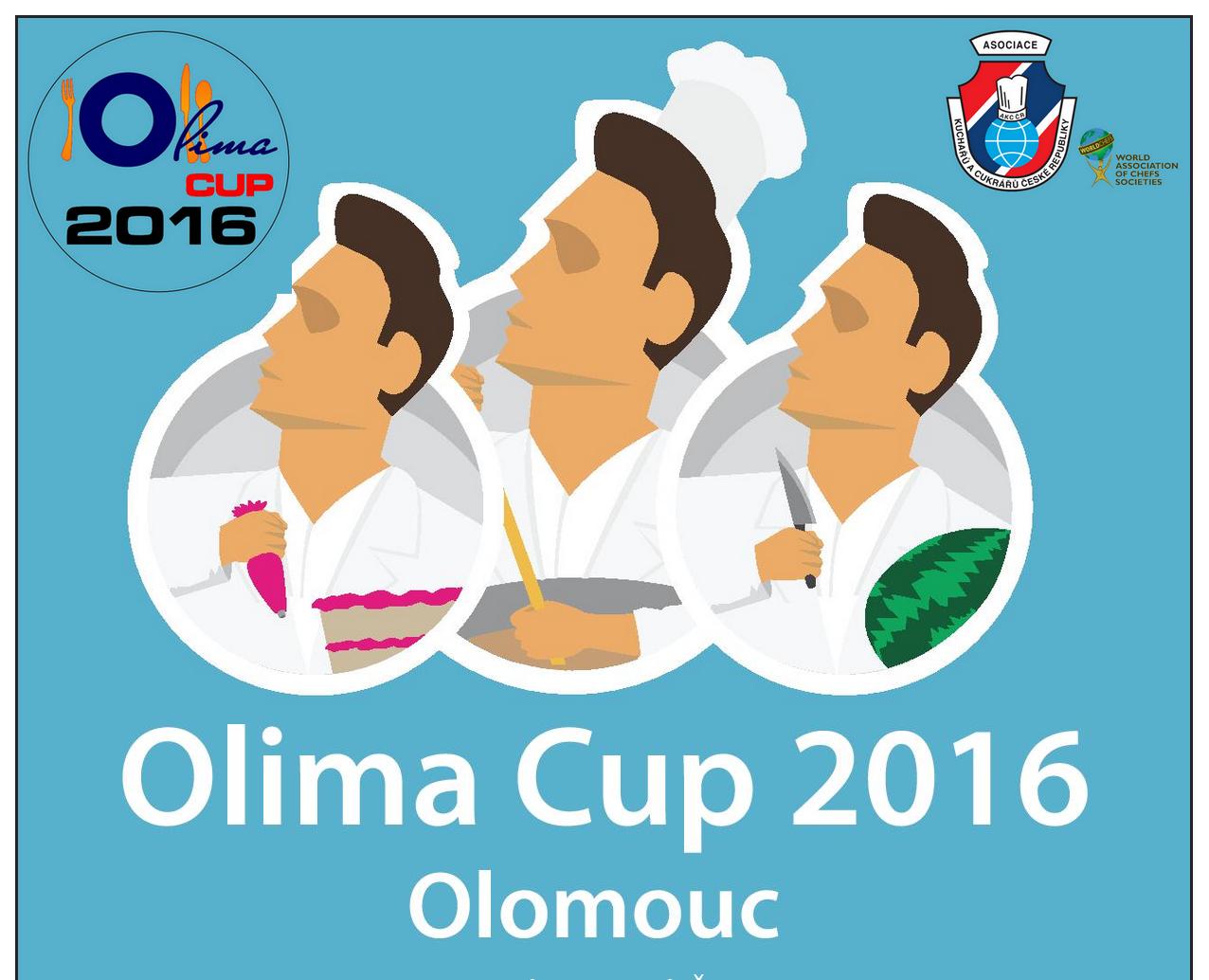 Kuchaři a cukráři na soutěži Olima cup 2016 - fotografie 1/1