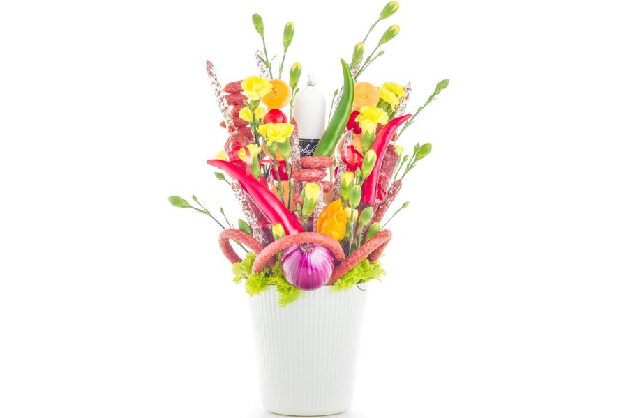 Uzeninová květina - Lahůdky JItřenka Teplice
