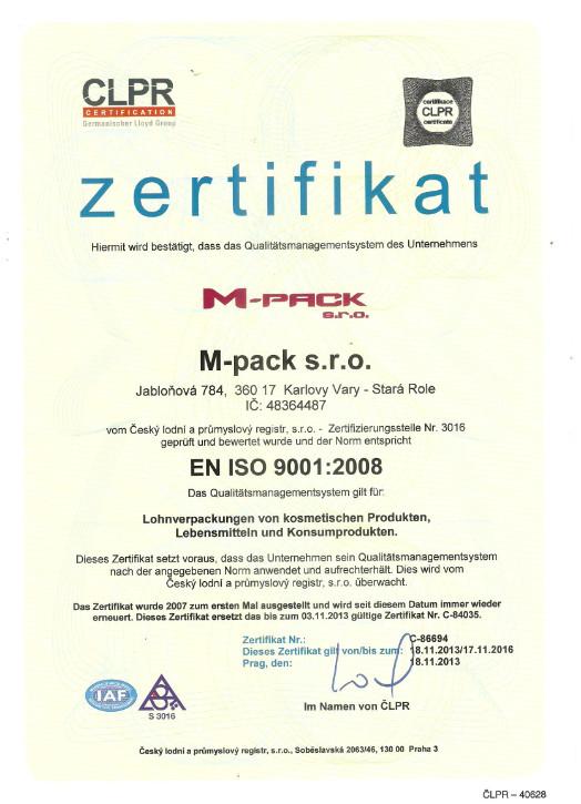 M-pack, s.r.o. - balení a plnění - fotografie 6/8
