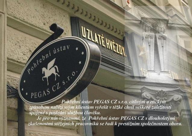 Pohřební ústav PEGAS CZ s.r.o. - pohřební služba - fotografie 2/6