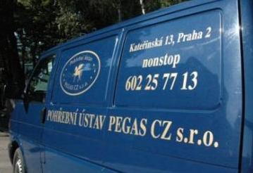 Pohřební ústav PEGAS CZ s.r.o. - pohřební služba - fotografie 3/6