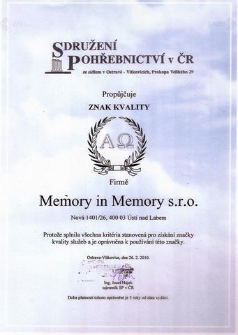 Memory In Memory s.r.o. - fotografie 16/21