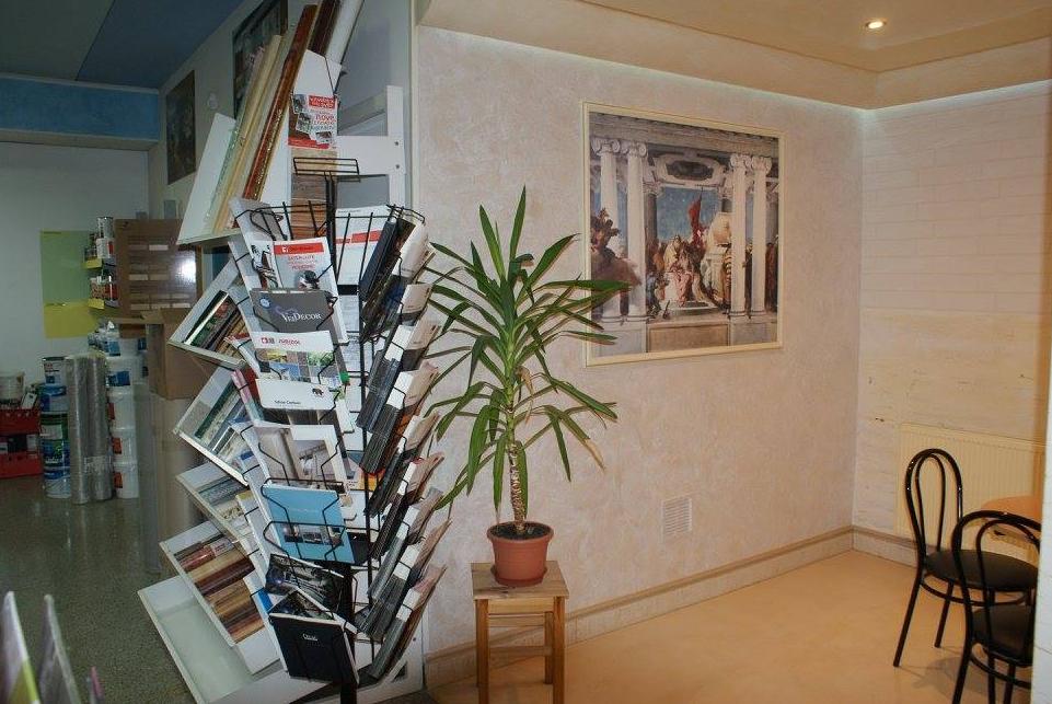 Vzorkovna dekoračníchmateriálů Colorificio Veneziano, Orac, NMC