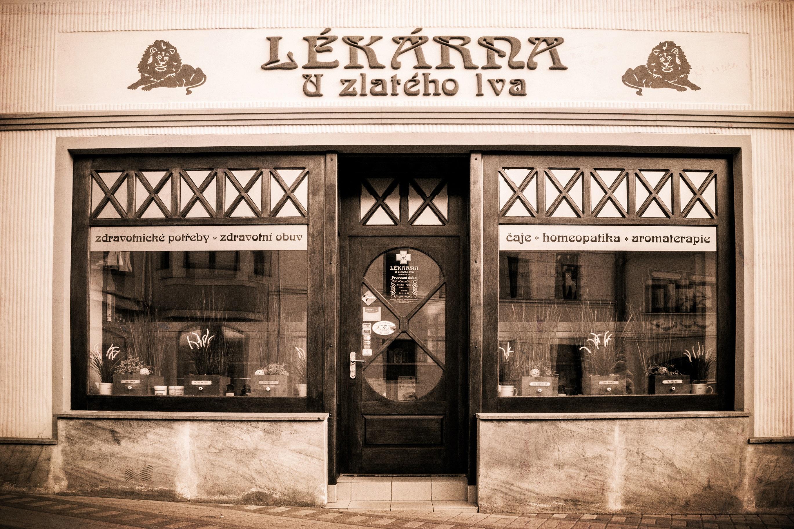 Lékárna U Zlatého lva - Theriaca s.r.o. - fotografie 1/2