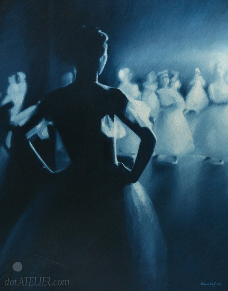 """""""Baletka"""" – krásný obraz na plátně"""