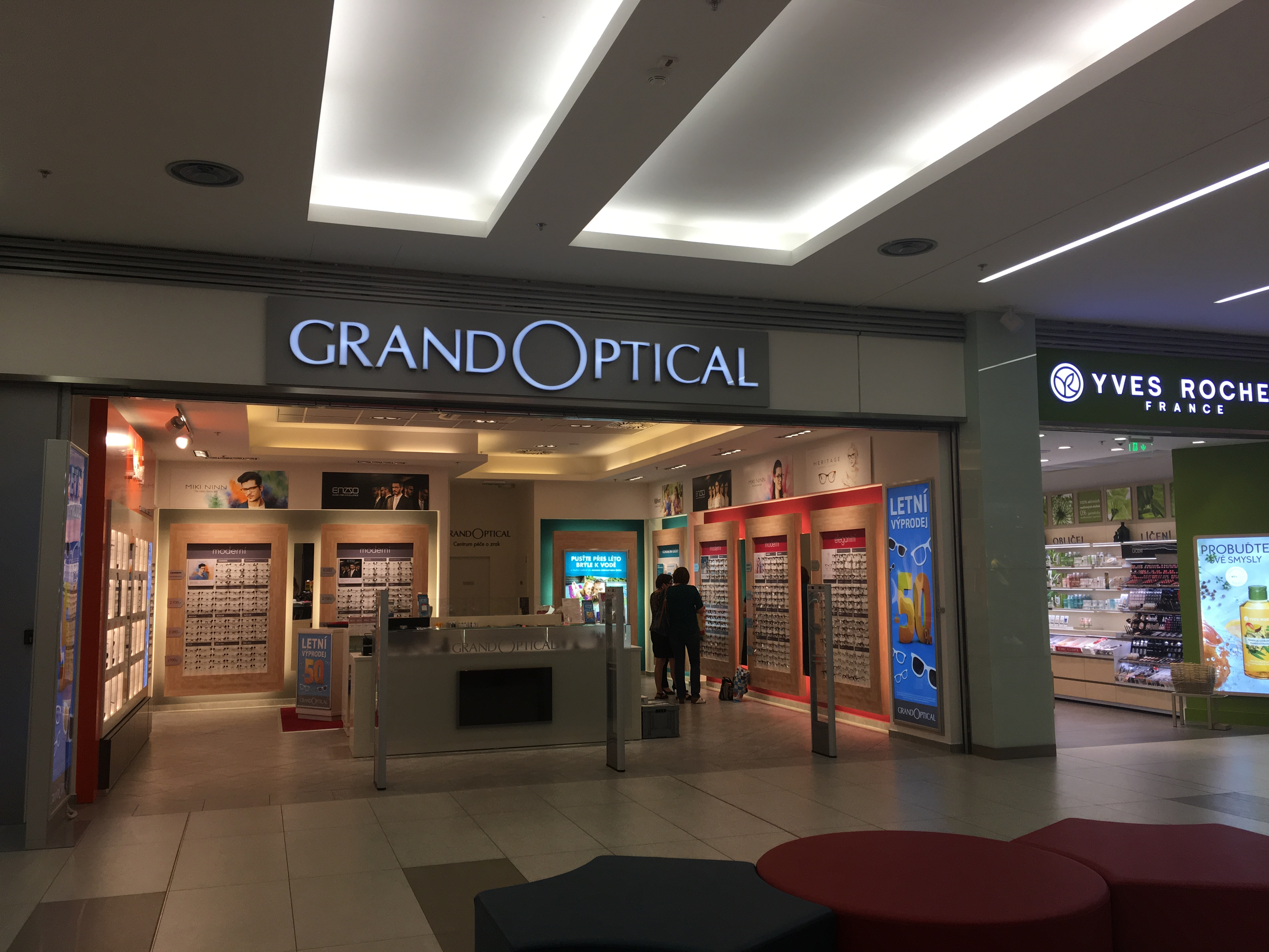 GrandOptical - oční optika Galerie Přerov - fotografie 1/18