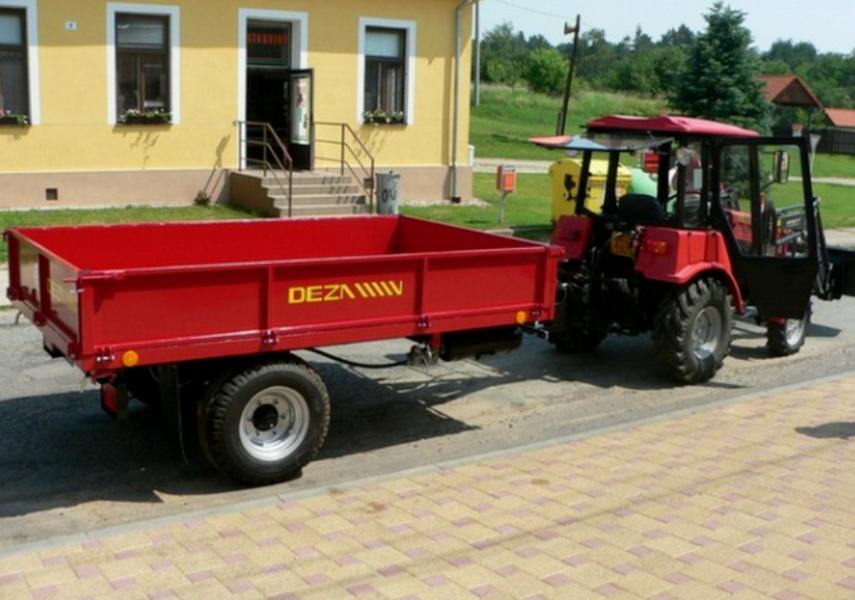 Traktorové návěsy Jihlava - DEZA - fotografie 2/6