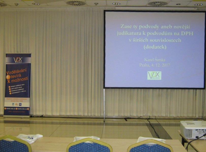 1. VOX a.s. - účetní a daňové kurzy Praha - fotografie 5/10