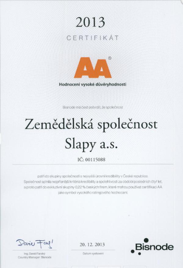ZEMĚDĚLSKÁ SPOLEČNOST SLAPY a.s. - fotografie 5/6