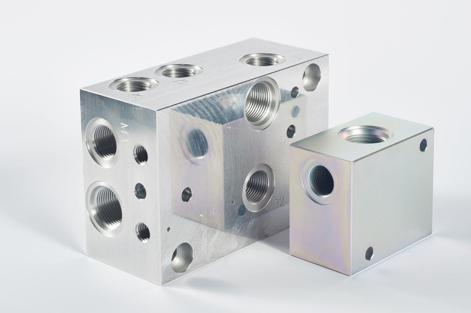 Naše výrobky - hydraulické bloky