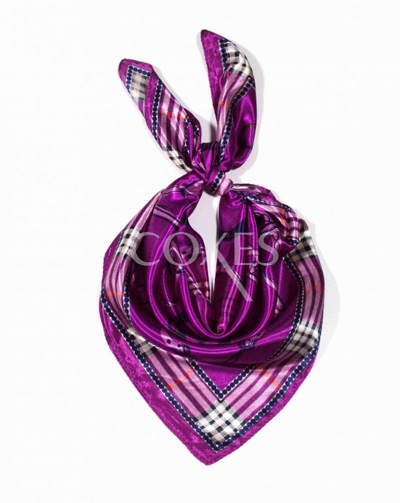 9b595362d4a Čtvercový šátek na krk vzor 60cm   60cm