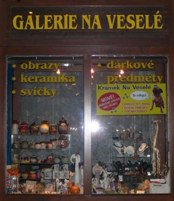 Obrazy, dárkové předměty - Galerie Na Veselé - fotografie 2/8