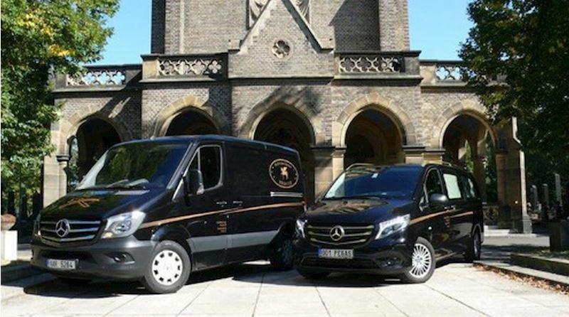 Vozy pro zahraniční převozy zesnulých