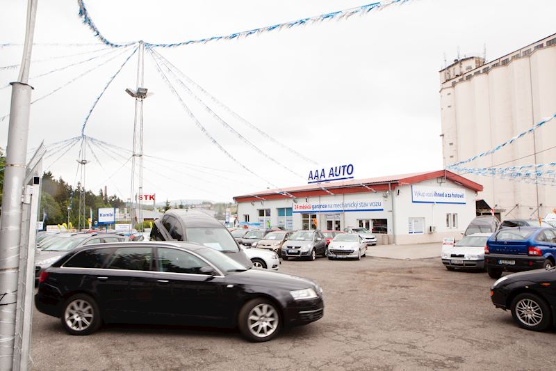 AAA AUTO pobočka Liberec