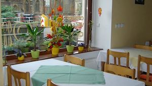 Křesťanský domov mládeže u sv. Ludmily, s.r.o. - jídelna