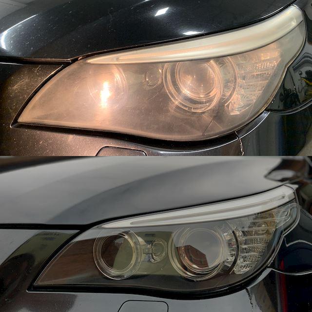 Renovace světel BMW