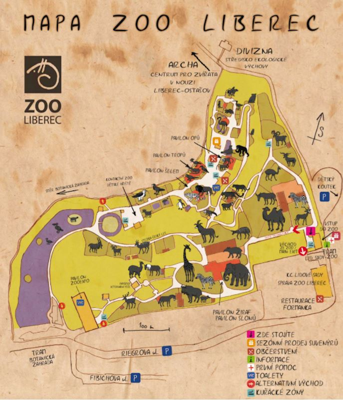 Zoologická zahrada Liberec, p.o. - fotografie 1/20