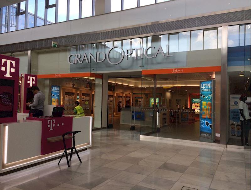Prodejna GrandOptical Centrum Černý Most