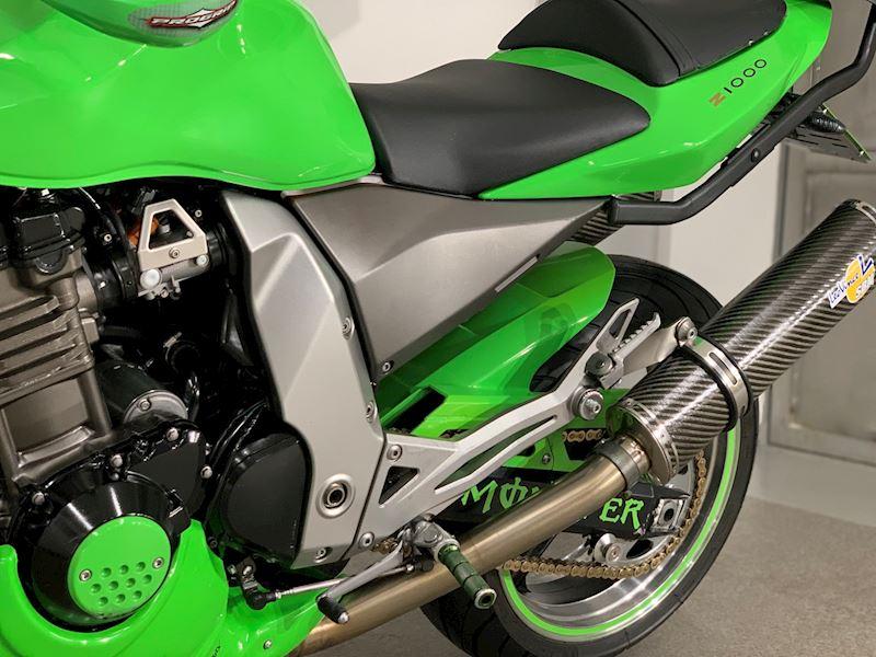 Vyčíštění Kawasaki Z1000