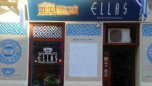 ELLAS - řecká restaurace