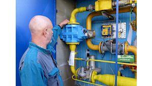 Servisní výměna plynoměrů
