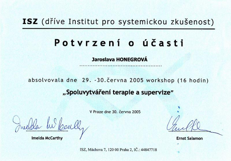 Honegrová Jaroslava PaedDr. - fotografie 5/5