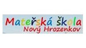 Mateřská škola Nový Hrozenkov 736, okres Vsetín