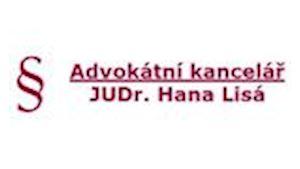 Advokát JUDr. Hana Lisá