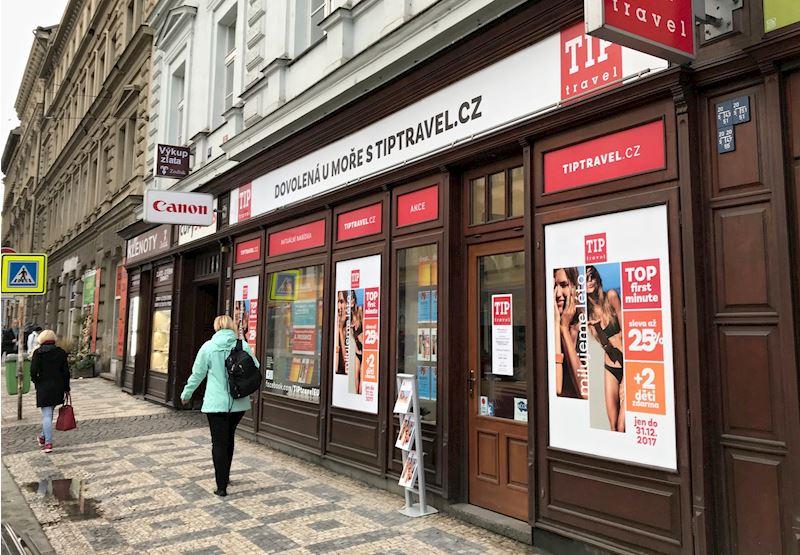 Cestovní kancelář TIP travel Praha