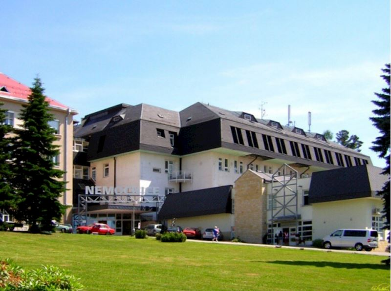 Nová budova, radiodiagnostický pavilon
