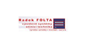 Radek Folta - vjezdové brány, garážová vrata
