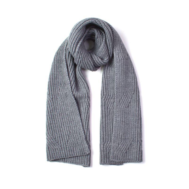 Maxi pletené zimní šály