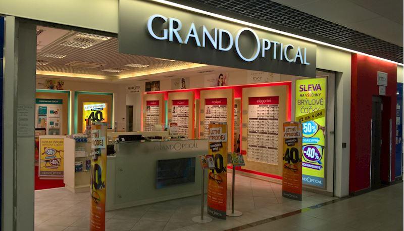 Prodejna GrandOptical OC Chomutovka