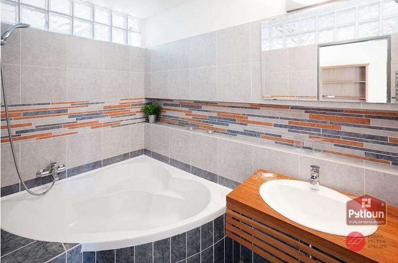 Koupelna luxusního pokoje