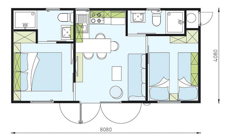 Camp WILLIAMS - mobilní domy a karavany - fotografie 3/28