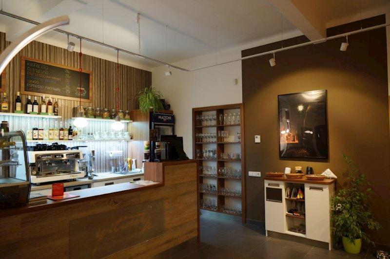 Kuchyně, kavárny