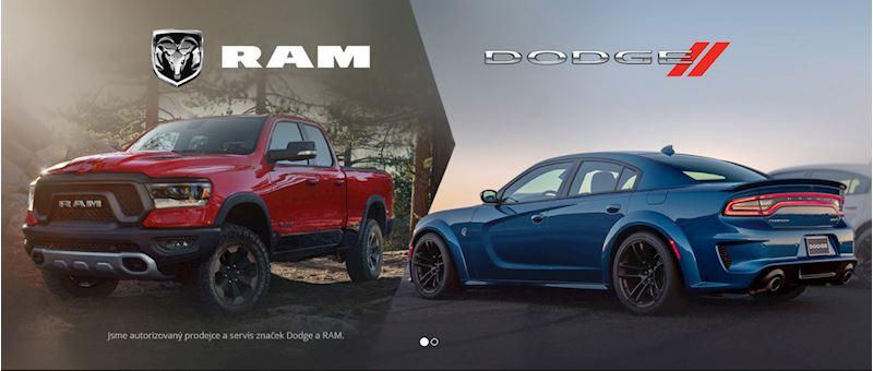 Autorizovaný prodejce Dodge a RAM