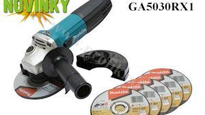 NOVINKA: Bruska úhlová 125mm 720W GA5030RX1 s příslušenstvím