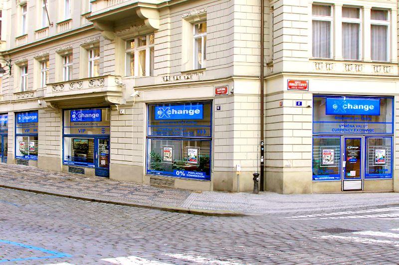 Exchange - Směnárna pro Čechy - oblíbená směnárna v centru Prahy