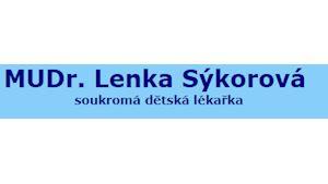 MUDr. Lenka SÝKOROVÁ - dětský lékař