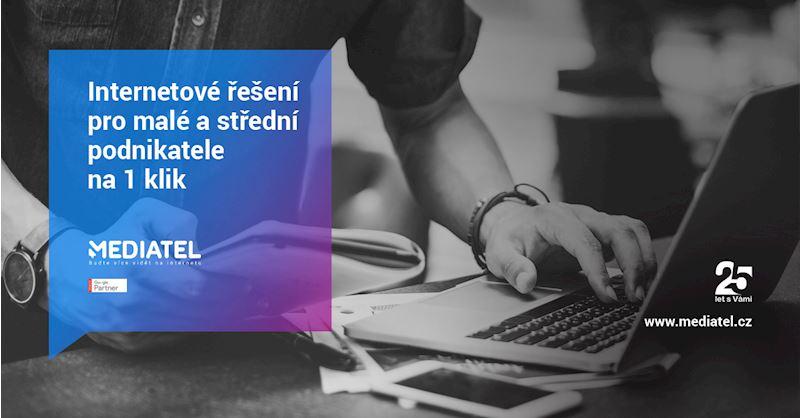 Digitální agentura Mediatel - Internetové řešení pro malé a střední podnikatele na 1 klik