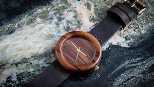 Dřevěné hodinky Orania