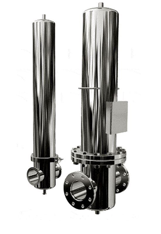 Sterilní filtry z nerez oceli SF 16 bar
