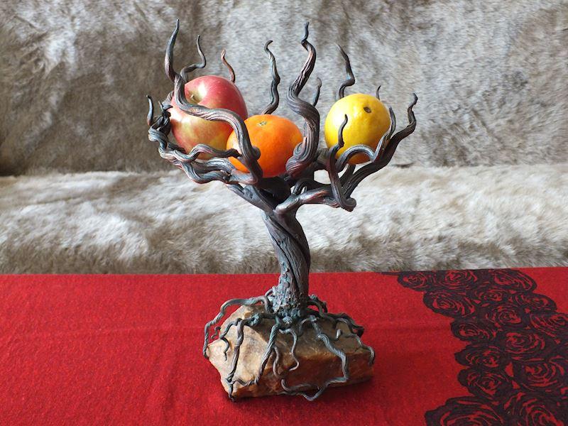 kovaný strom