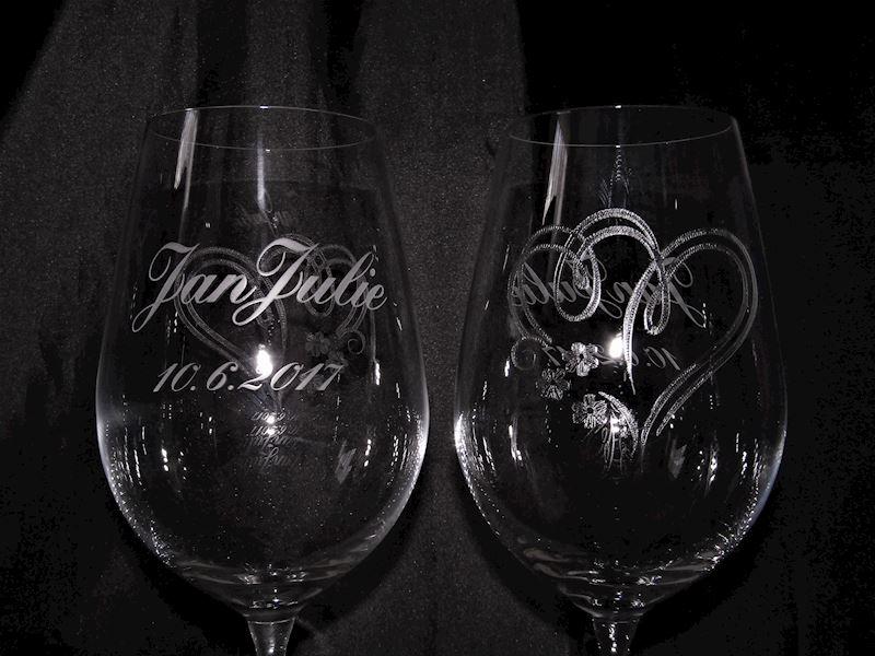 svabtení skleničky