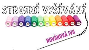 Strojní vyšívání - Iva Nováková