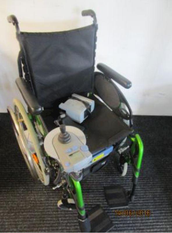 e-fix na mechanickém vozíku