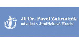 Zahradník Pavel JUDr.