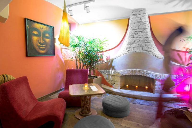 Restaurace Maitrea - vegetariánská restaurace - fotografie 4/8