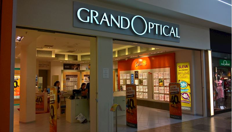 Prodejna GrandOptical NC Géčko